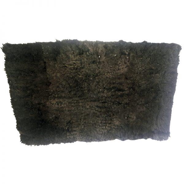 Cojinillo negro natural codigo 0429