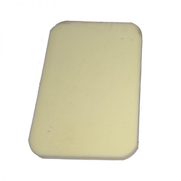 Mandil de poliester de 5 y 7 cm. codigo 0423 - 0424 2